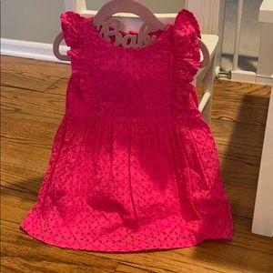Hot Pink Ralph Lauren Dress - 18m